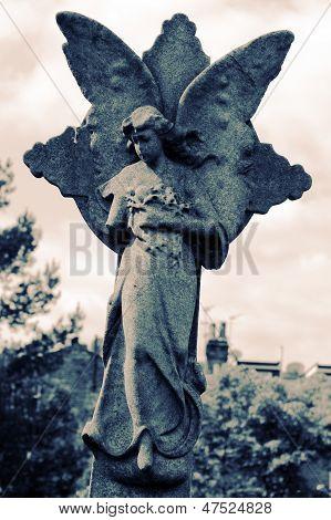 Damaged And Worn Angel