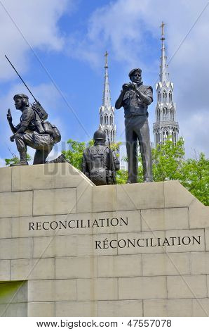 Reconciliation the Peacekeeping Monument