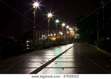 Walking The Streets At Night