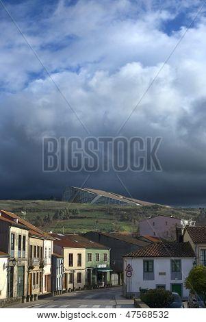 City Of Culture In Santiago De Compostela, Spain