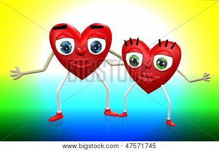 Loving Couple Symbol