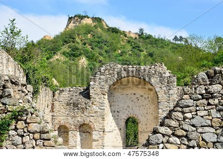 Ruins Of A Christian Religious Shrine In Melnik, Bulgaria