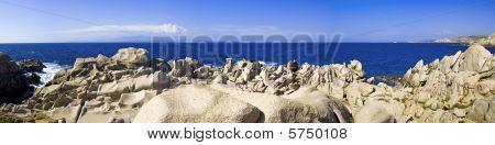 Capo Testa Beach