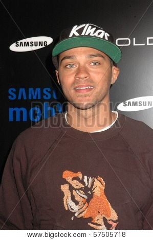 Jesse Williams at the Samsung Behold ll Premiere Launch Party, Blvd. 3, Hollywood, CA. 11-18-09