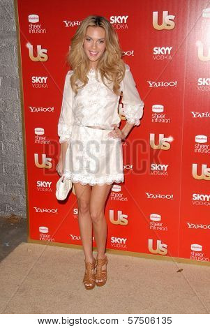 Jasmine Dustin at the Us Weekly Hot Hollywood Style 2009 party, Voyeur, West Hollywood, CA. 11-18-09