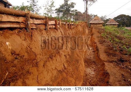 Traditional Ditch At Highlands Village
