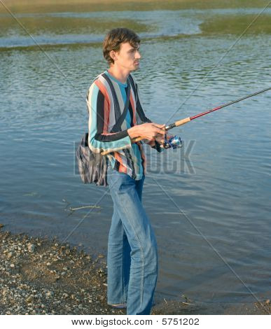 Young Men Fishes