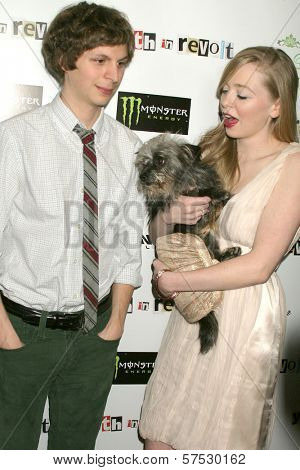 Michael Cera and Portia Doubleday at the