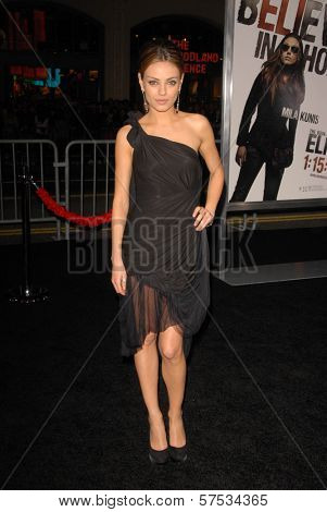Mila Kunis  at 'The Book Of Eli' Premiere, Chinese Theater, Hollywood, CA. 01-11-10