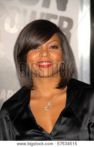 Taraji P. Henson at 'The Book Of Eli' Premiere, Chinese Theater, Hollywood, CA. 01-11-10