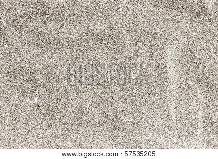 Film Grained Crumpled Textured  Recycled Paper  Background. Vintage Craft Cardstock Texture Grey Col