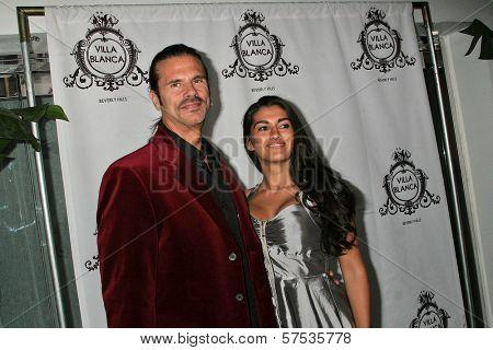 Lorenzo Lamas at the Christiane King Fashion Line Launch Cocktail Party, Villa Blanca, Hollywood, CA. 01-14-10