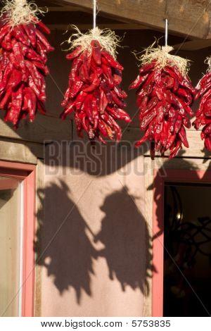 Three Hanging Ristras