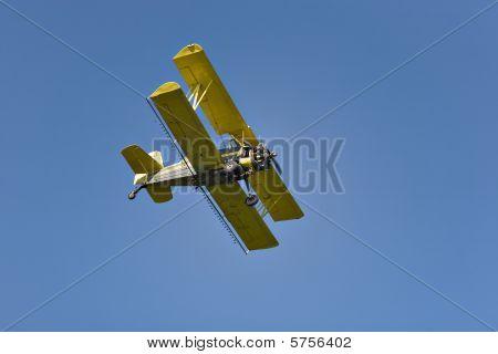 Yellow Biplane, Crop Duster.
