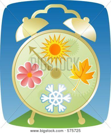 Seasons Clock