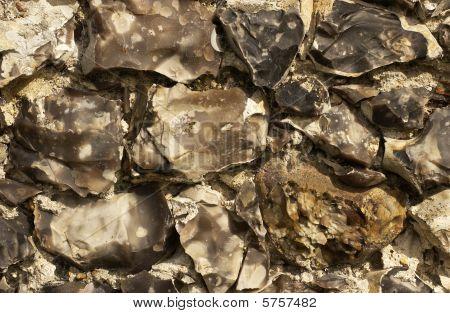 Flint Wall Section