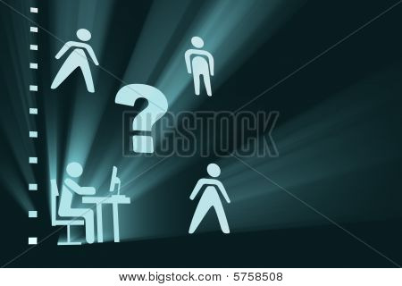 Workers concept