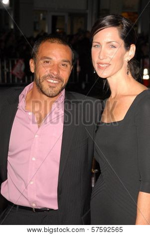 Michael Irby and Susan Matus  at the Los Angeles Premiere of 'Law Abiding Citizen'. Grauman's Chinese Theatre, Hollywood, CA. 10-06-09