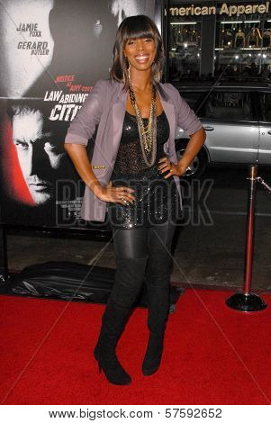 Tasha Smith at the Los Angeles Premiere of 'Law Abiding Citizen'. Grauman's Chinese Theatre, Hollywood, CA. 10-06-09