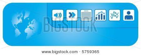 Header Graphics With Document Icon