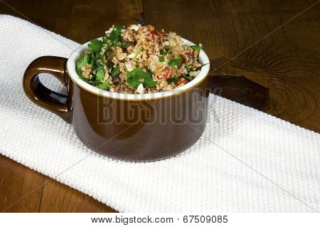 Tabouleh in Bowl