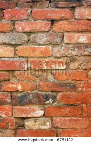 Old Brick Wall Background Vertical
