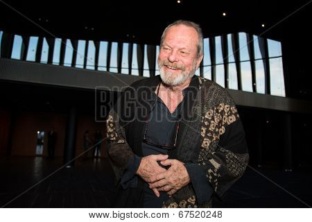 MOSCOW - JUNE, 14: American director Terry Gilliam. Premiere of the movie The Zero Theorem at at the Barvikha Village. June 14, 2014 in Moscow, Russia