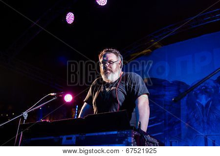 MOSCOW - JUNE, 19: Actor Kristian Nairn (Hodor, Game of Trones). 36st Moscow International Film Festival. Afterparty Opening Ceremony at Neskychy Sad. June 19, 2014 in Moscow, Russia