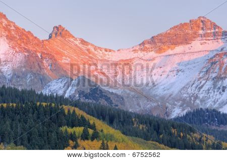 Sunset, San Juan Mountains