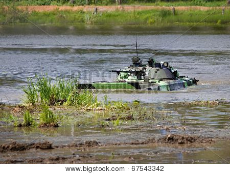 Infantry Combat Vehicle In Water