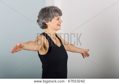 Middle Aged Female Sports Trainer