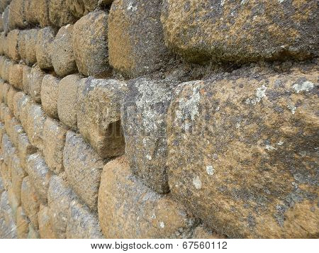 Incan Stone wall for backgrounds