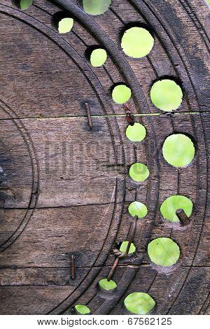 Wheel Of Old Village Distaff