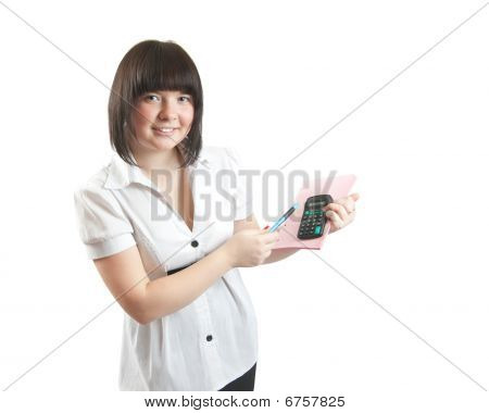 Young Business Girl