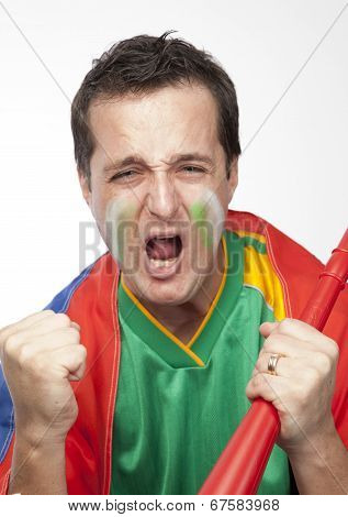 Passionate South African Sports Fan