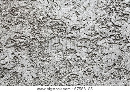 Light Gray Pattern On The Wall