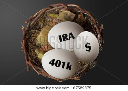 Retirement Nest Eggs.