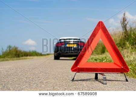 Car With A Breakdown