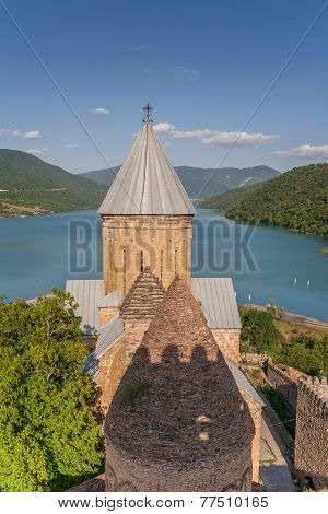 Ananuri Church  Complex On The Aragvi River