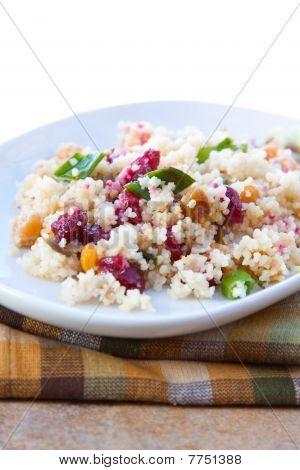 Vegan Salad - Cranberry Date Crunch