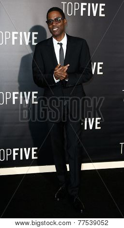 NEW YORK-DEC 3: Comedian/actor Chris Rock attends the