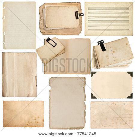 Paper Sheet, Bookpage, Cardboard, Photo Frame With Corner