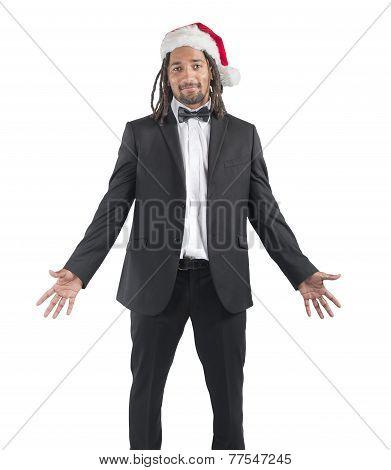 Happy Xmas Businessman