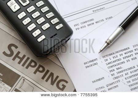 Shipping Invoices And Documents