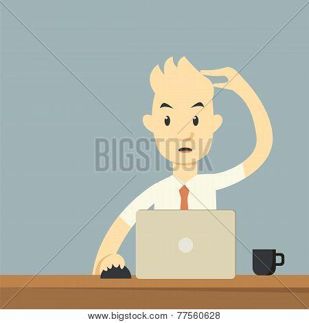 Businessman Working