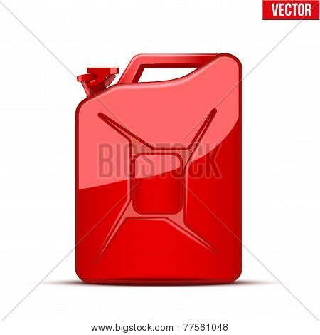 Fuel container canister jerrycan.