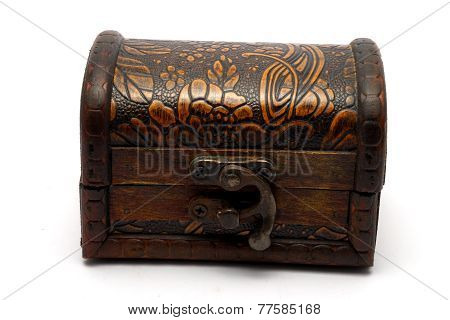 Turkish Wooden Trinket Box