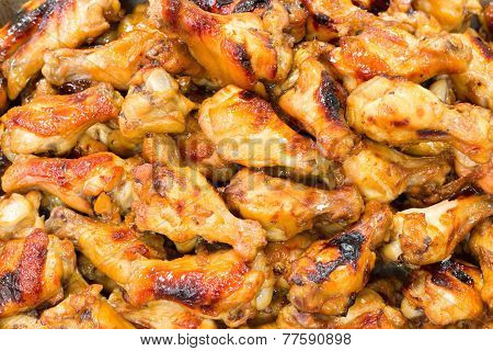 Hot And Spicey Bbq Chicken Wings
