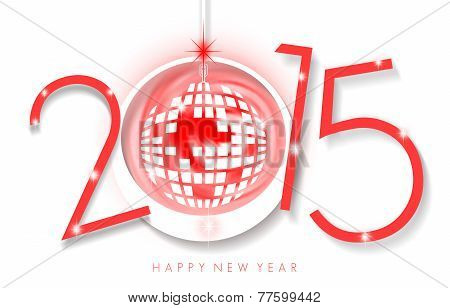 Abstract New Year Card