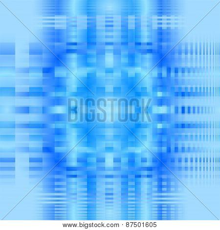 Pattern blue blur vector grid background